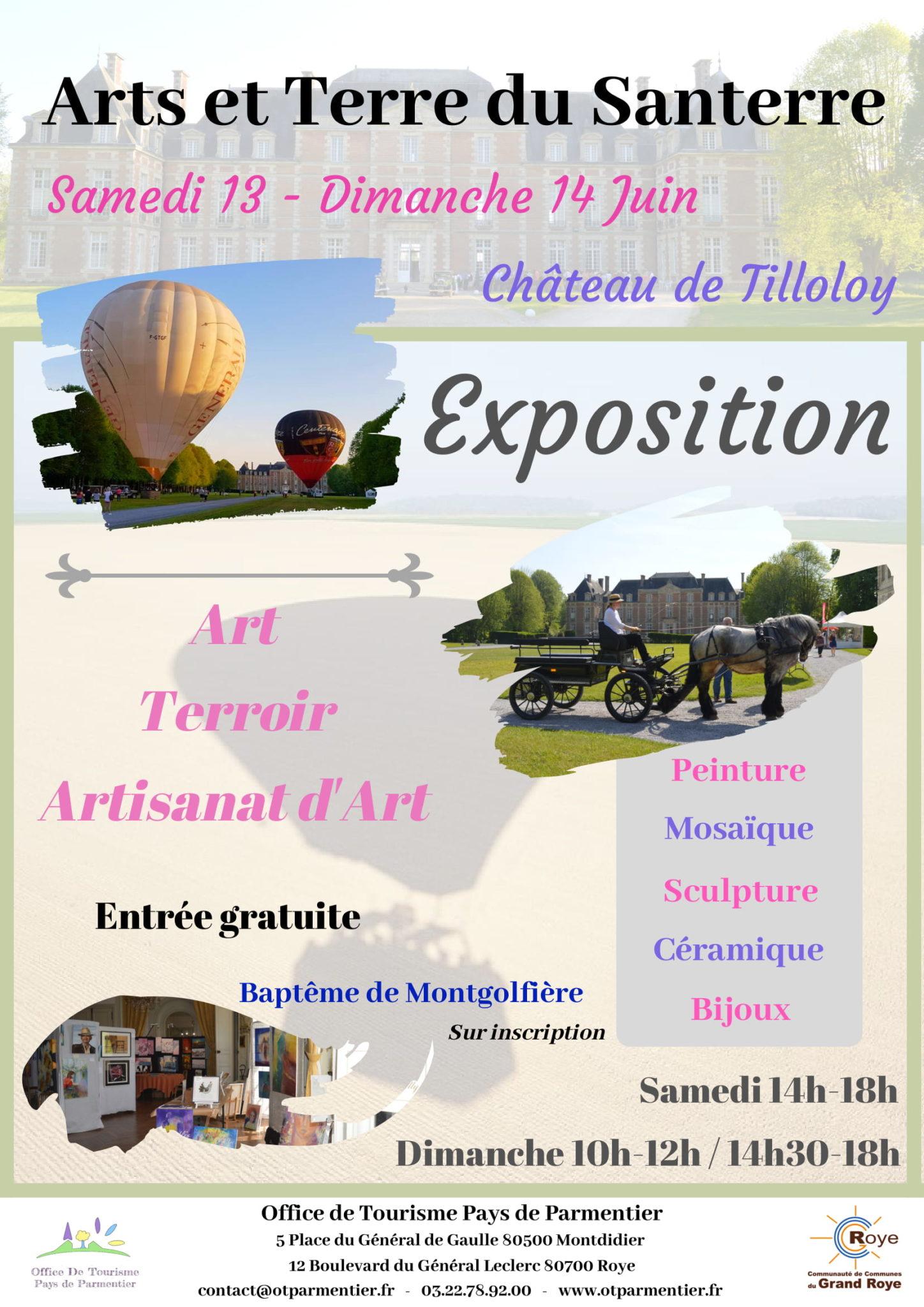Affiche Arts et Terres du Santerre-1